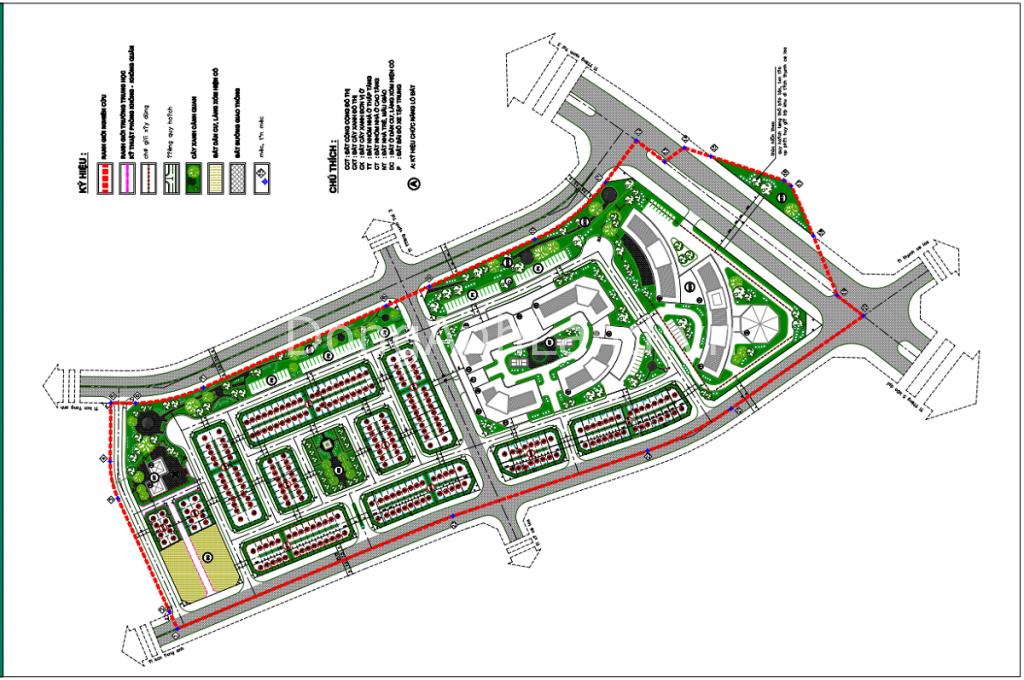 Quy hoạch 1:500 dự án 319 Uy Nỗ Đông Anh