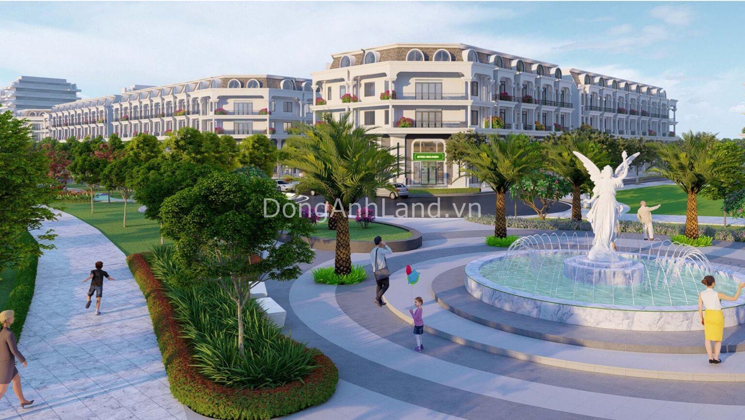 Quảng trường dự án Calyx Residence 319 Uy Nỗ Đông Anh