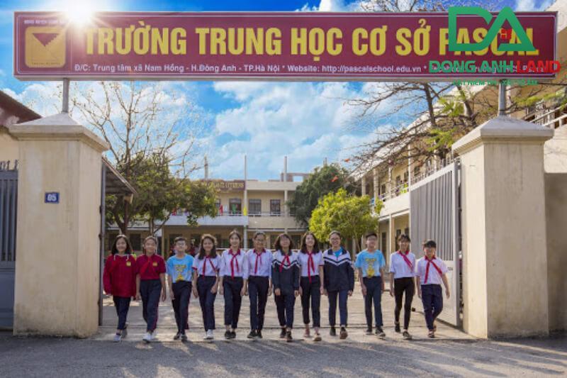 Trường THCS Pascal Đông Anh được đánh giá cao