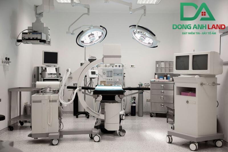 Trang thiết bị hiện đại được bệnh viện Than 3 trang bị