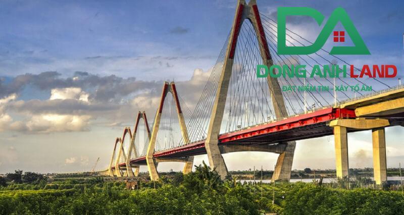 Cầu Nhật Tân là tuyến giao thông trọng điểm trong quy hoạch Đông Anh