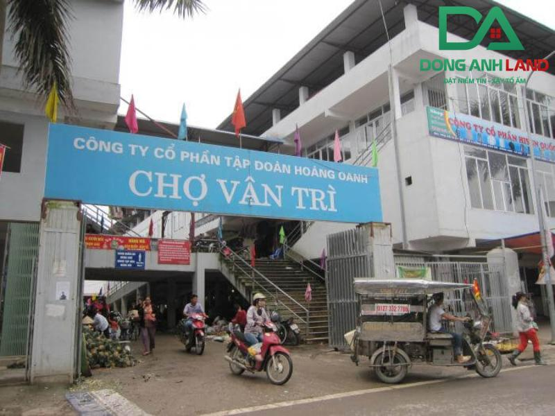Chợ Vân Trì Đông Anh