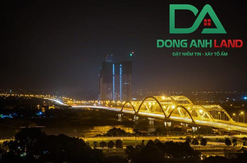 Cầu Đông Trù, Đông Anh về đêm