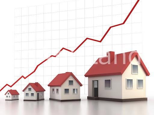 Giá nhà đất không ngừng tăng