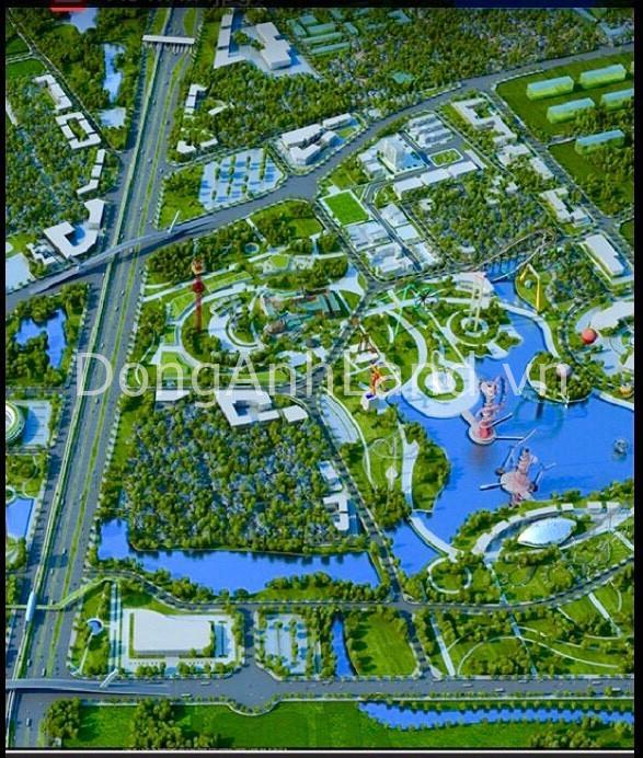 Đề xuất và thúc đẩy nhanh dự án Công viên phần mềm Vintech Đông Anh.