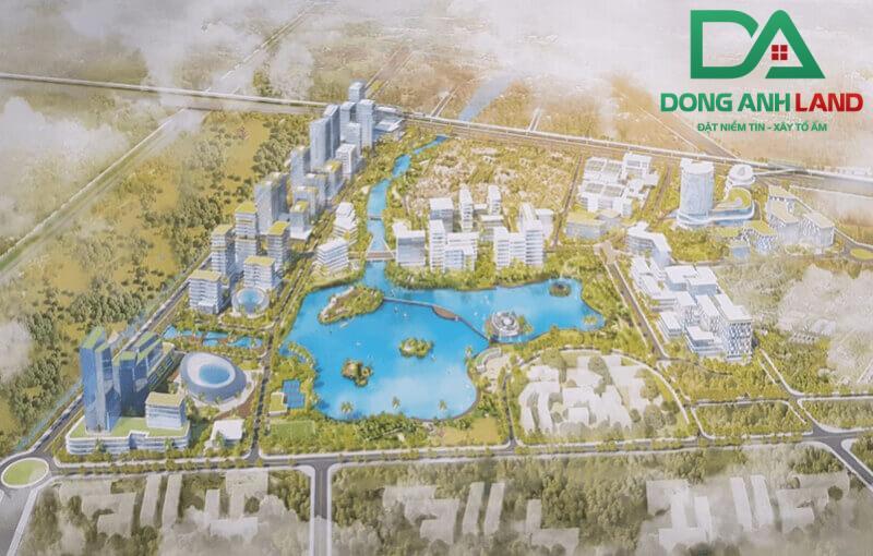 Công viên phần mềm được xây dựng thành các phân khu